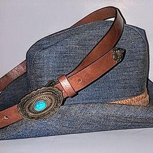Vintage | Southwestern Belt Brown Turquoise